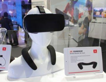Anche l'audio diventa indossabile. JBL Soundgear è il collare per la realtà virtuale