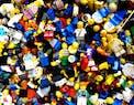 Una montagna di LEGO riordinata grazie al machine learning