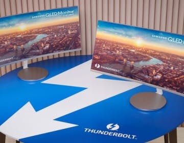 Samsung mostra il primo monitor QLED curvo con Thunderbolt 3