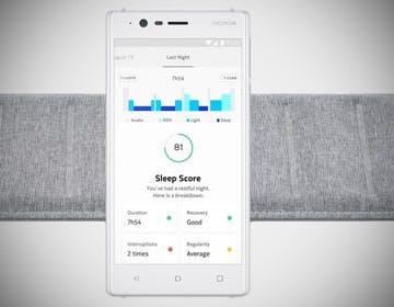 Nokia Sleep ti dice come dormi (e anche se hai russato)