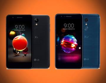 LG K8 e K10 2018, più robusti e completi. Ma lo schermo HD nel 2018 è un peccato grave