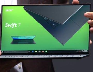 Acer rinnova Swift 7 e Swift 5, i notebook dei record