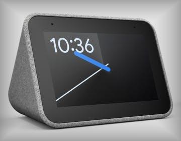 Lenovo Smart Clock, Google Assistant e schermo da 4 pollici