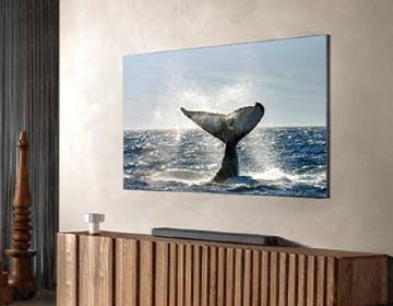 """Le prime immagini ufficiali del TV Samsung """"zero-cornici"""". Sarà un 8K"""