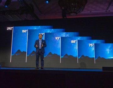 """Samsung, nel 2020 un'intera gamma microLED. E c'è anche un 75"""" 4K"""