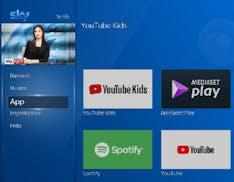 Sky Q pensa ai più piccoli: arriva l'app di YouTube Kids