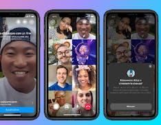 Videochiamate di gruppo, WhatsApp apre alle chat fino a 8 partecipanti. Su Messenger spazio a 50 persone