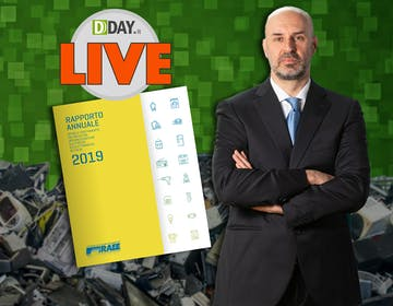 DDAY Live: Fabrizio Longoni (CdC RAEE) presenta il rapporto RAEE 2019
