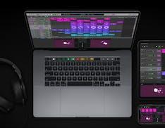 Logic Pro si aggiorna con Live Loops, un Sampler completamente ridisegnato e nuovi strumenti per il beatmaking