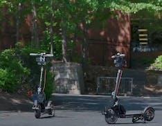 Ecco i monopattini a guida autonoma di Go X. Li lasci in strada, e tornano da soli in deposito