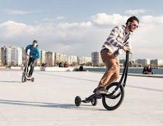 Ecco Halfbike, a metà fra una bicicletta ed un monopattino. E col bonus mobilità costa pochissimo