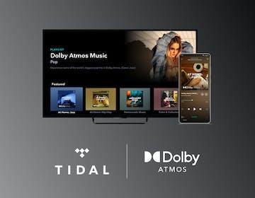 Tidal porta lo streaming in Dolby Atmos sui televisori e sulle soundbar
