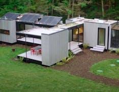 Questa casa non ha bisogno di energia e si monta come un mobile Ikea