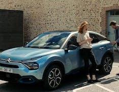 Citroën svela la ë-C4, la versione 100% elettrica della nuova C4