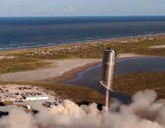 Ancora un test positivo per SpaceX: il prototipo di Starship decolla e atterra perfettamente