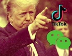 Trump mette al bando TikTok e WeChat. Acquisizione da parte di Microsoft sempre più vicina?