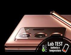 Galaxy Note 20 Ultra, quanto dura la batteria. Test di laboratorio