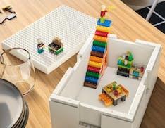 Arrivano le BYGGLEK, le scatole un po' Ikea e un po' Lego