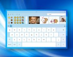 Windows 10 si rifà la tastiera touch. Nuove funzionalità, dettatura avanzata e barra spaziatrice per trackpad