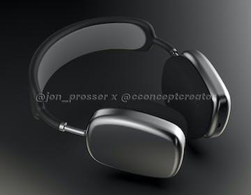 Queste dovrebbero essere le AirPods Studio Apple: metallo e pelle, senza ingresso jack