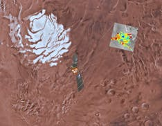Trovati quattro laghi salati su Marte. L'acqua liquida potrebbe ospitare la vita