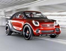 Guerra dei SUV elettrici: c'è anche Smart, su base Volvo-Polestar