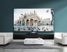 Hisense Laser TV in prova: schermo gigante, non solo al buio
