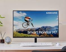 Samsung M7 è il primo smart-monitor. A bordo c'è Tizen con Netflix, YouTube e AirPlay