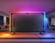 Hue Play Gradient Lightstrip, arriva la striscia LED per portare l'effetto Ambilight su qualsiasi TV