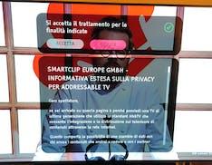 Smart TV, il bel regalo dell'HbbTV: quando si cambia canale appare il popup dell'informativa privacy