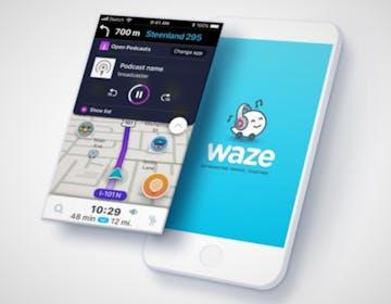 Waze e Amazon Music insieme: musica e indicazioni stradali nella stessa app