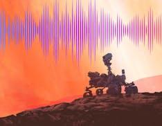 Ecco il suono che fa il rover Perseverance mentre viaggia verso Marte