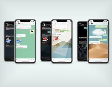 WhatsApp, arrivano sfondi personalizzati per ogni chat ed un nuovo pacchetto di sticker animati