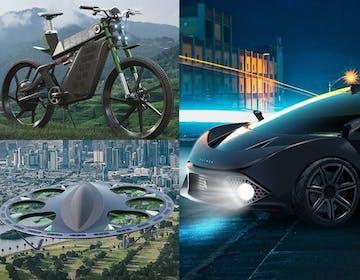 Le promesse di Daymak: eBike fotovoltaica, supercar elettrica e drone passeggeri