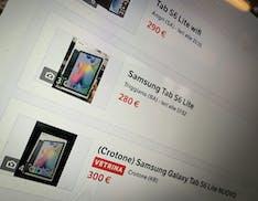 """""""Vendo per regalo non gradito"""": i tablet del voucher banda larga sono già sui marketplace dell'usato"""
