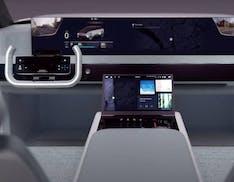 Digital Cockpit, al CES 2021 Samsung immagina l'auto del futuro