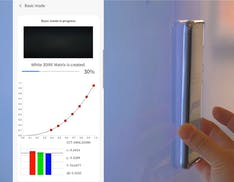 Samsung studia un'app che permette di calibrare il TV con il proprio smartphone