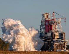Test di accensione fallito per il sistema di lancio della NASA che riporterà l'uomo sulla Luna