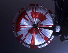 Identificato in meno di 6 ore il messaggio segreto sul paracadute di Perseverance