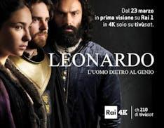 La serie TV Leonardo verrà trasmessa in Ultra HD su Rai 4K