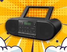 Panasonic ha rifatto lo stereo dei paninari: maniglione, radio DAB, bluetooth e funziona anche a batteria
