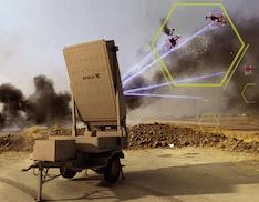 Microonde ad alta potenza contro i droni. Leonidas abbatte sciami di droni in un colpo solo