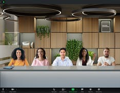 La nuova modalità immersiva di Zoom porta tutti gli utenti della riunione in un'unica sala virtuale