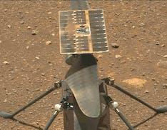 Sesto volo burrascoso per Ingenuity: oscilla nell'atmosfera di Marte, ma atterra sano e salvo