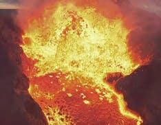 Il video del drone DJI FPV che non ce l'ha fatta: è stato inghiottito da un vulcano