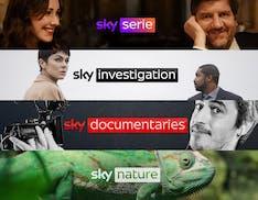 Sky lancia 4 nuovi canali dedicati a serie TV e documentari. In onda dal 1° luglio