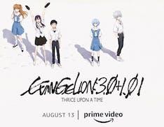 Evangelion 3.0+1.01 e l'intera tetralogia di Rebuild of Evangelion arrivano su Amazon Prime Video