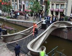 Inaugurato ad Amsterdam il primo ponte al mondo stampato in 3D