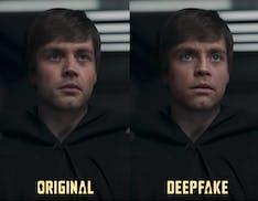 """Lucasfilm assume lo youtuber che ha """"rifatto"""" Luke Skywalker in The Mandalorian. Quando il deepfake premia"""