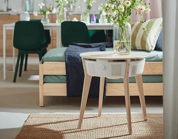 IKEA ha inventato il purificatore d'aria integrato nel tavolino